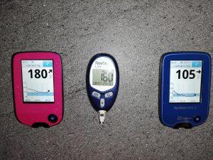 Zuckerschmuck Selbsttest Vergleich Freestyle Libre 1 vs. Freestyle Libre 2 vs. Blutzucker