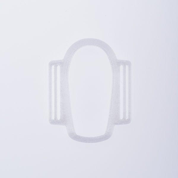 Dexcom G6 Sensorhalter weiß