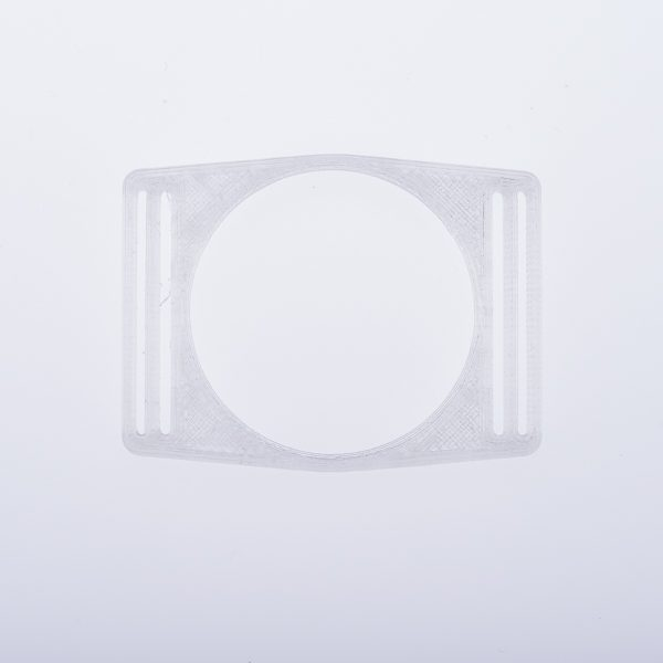 Libre Einband Sensorhalter transparent silber