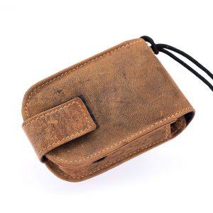 Abbott Freestyle Libre Tasche Braun Vintage