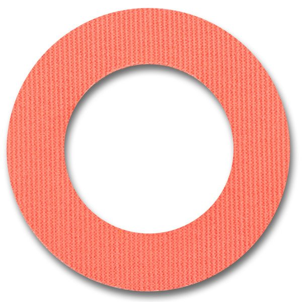 Fixtape Tape Freestyle Libre rund Coral