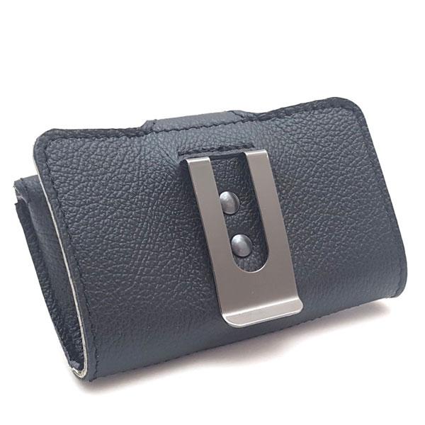 Dexcom G6 Lesegerät Tasche Echtleder mit Clip schwarz