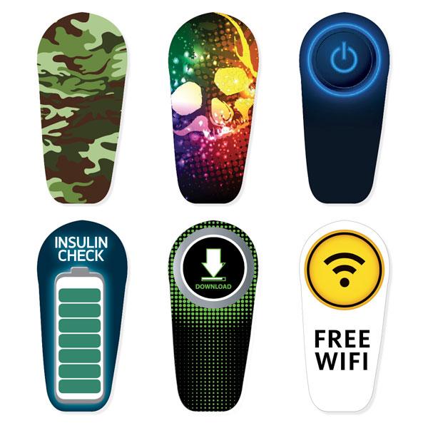 Dexcom G6 Transmitter Sticker Männer