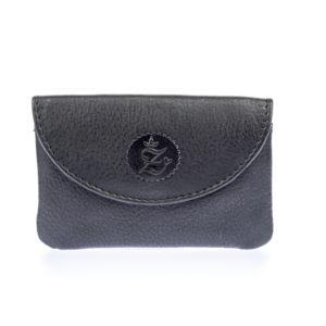 NEU: Zuckerschmuck® Tasche mit Clip Echtleder Schwarz
