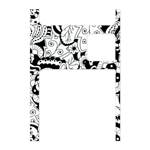 Dana Sticker, wasser- UV- und kratzfest, mit Schutzversiegelung für wochenlange Haltbarkeit