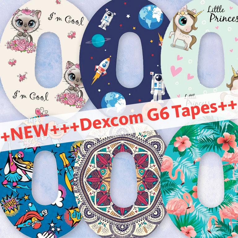 Neue Motive für Dexcom G6