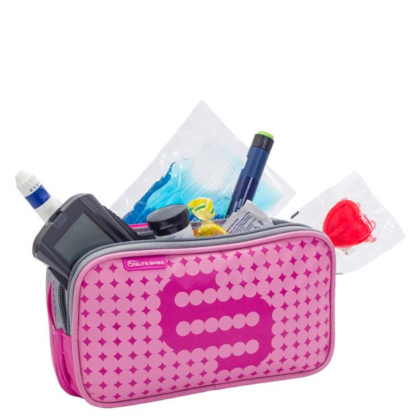 ELITE BAG Dia's Tasche Diabetestasche pink