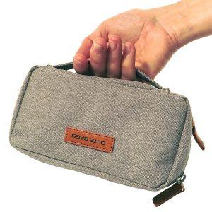 ELITE BAG Diabetic's Tasche Diabetestasche grau bitone