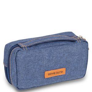 ELITE BAG Diabetic's Tasche Diabetestasche blaub bitone