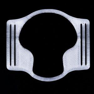 Enlite Sensorhalter silber transparent