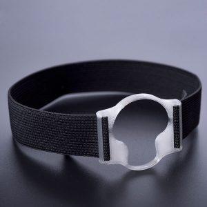 Sensorhalter für Enlite / Guardian silber-transparent
