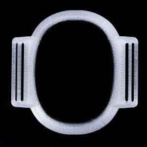 Sensorhalter für Eversense XL silber-transparent