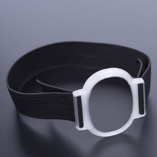 Eversense Sensorhalter silber transparent