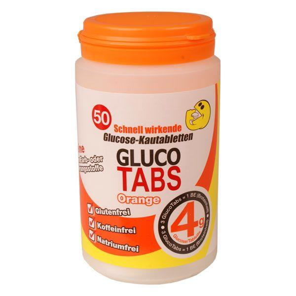 Glucotabs Orange 50 Stück Nachfüllbox