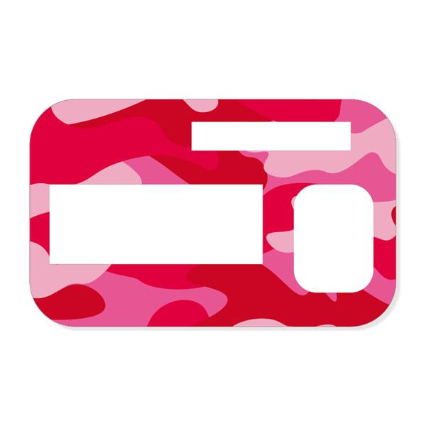 Sticker Camo Pink Für Accu Chek Insight