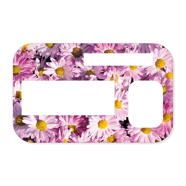 Sticker Blütenmeer Für Accu Chek Insight