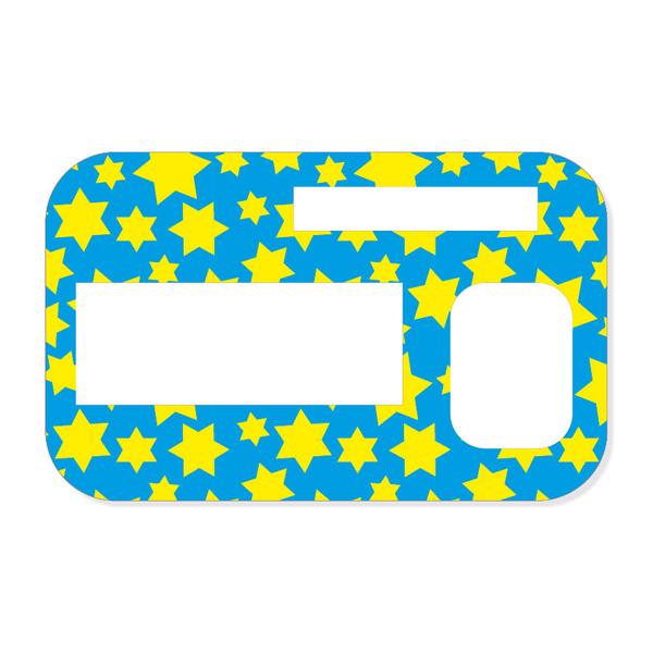Sticker Sternchen Für Accu Chek Insight