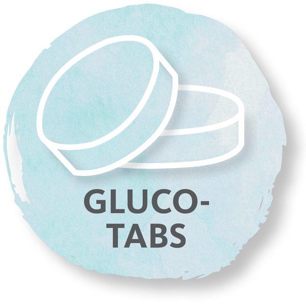 Traubenzucker, Glucotabs, Glukosetabletten, Glucose
