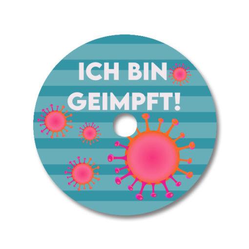 Abbott Freestyle Libre Sticker Covid 19 Vaccinated