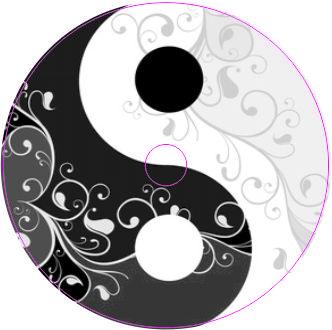 Freestyle Libre Sticker Yin Yang