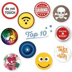 10er Sparpack Freestyle Libre Sticker