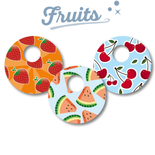 Abbott Freestyle Libre 3 Sticker Fruits