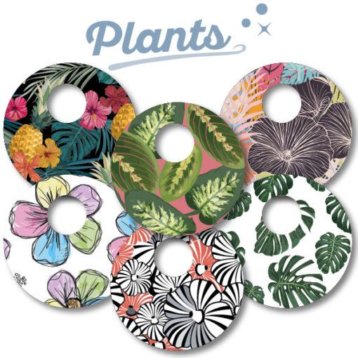 Abbott Freestyle Libre 3 Sticker Plants