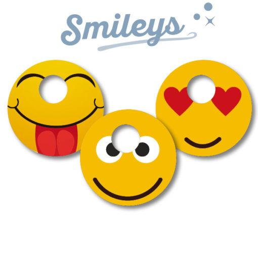 Abbott Freestyle Libre 3 Sticker Smileys
