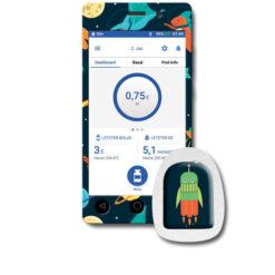 Omnipod Dash PDM Reader Design Sticker günstig kaufen bei www.zuckerschmuck.com