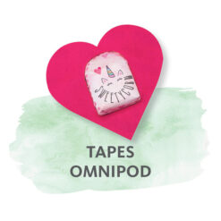 Omnipod + DASH Fixierungstapes
