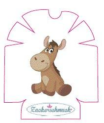 """Omnipod Sticker """"Esel"""" von Zuckerschmuck"""