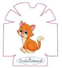 """Omnipod Sticker """"Kitten"""" von Zuckerschmuck"""