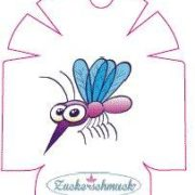 """Omnipod Sticker """"Mosquito """" von Zuckerschmuck"""