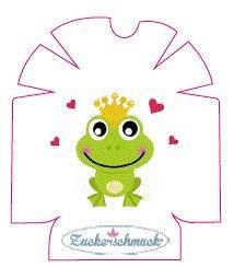 """Omnipod Sticker """"Froschkönig """" von Zuckerschmuck"""