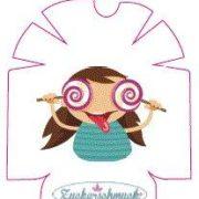 """Omnipod Sticker """"Candygirl"""" von Zuckerschmuck"""