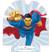"""Omnipod Sticker """"Superman"""" von Zuckerschmuck"""