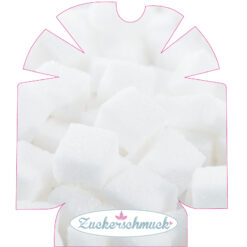 """Omnipod Sticker """"Zuckerwürfel"""" von Zuckerschmuck"""