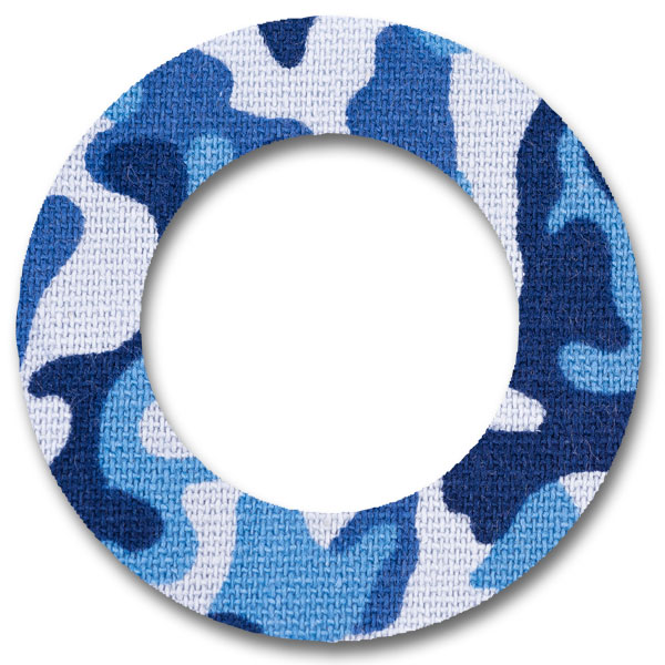 Fixtape Tape Freestyle Libre rund Bluecamo
