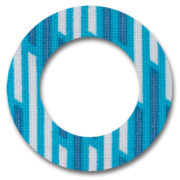 Fixtape Tape Freestyle Libre rund Bluestripes