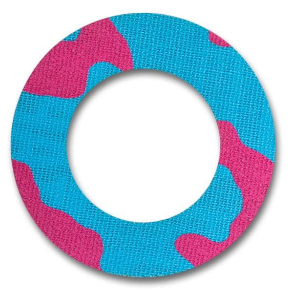 Fixtape Tape Freestyle Libre rund Pinkblueleo