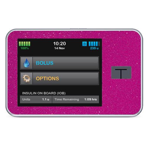 Wasserfeste Sticker für Tandem Diabete Care t:slim X2 von