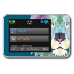 Wasserfeste Sticker für Tandem Diabete Care t:slim X2 von www.zuckerschmuck.com