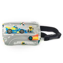 Insulinpumpentasche mit flexiblem Bauchgurt Autos/Rennstrecke günstig kaufen bei www.zuckerschmuck.com