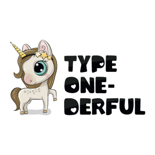 "Diabetes Tattoo ""Type One-derful"""