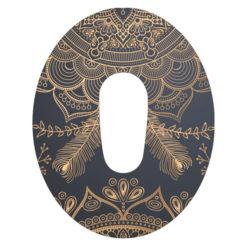 Dexcom G6 Tape Golden Mandala