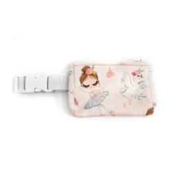 Insulinpumpentasche mit flexiblem Bauchgurt Ballett günstig kaufen bei www.zuckerschmuck.com