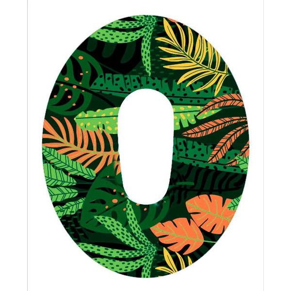 Dexcom G6 Design Motiv Fixierungstapes- Pflaster Forest günstig kaufen bei www.zuckerschmuck.com