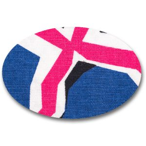 Fixtape Tape Freestyle Libre Oval 5x7 Union Jack