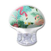 Medtronic Guardian 3 Transmitter Sticker Flamingo tropisch wasser- und kratzfest von www.zuckerschmuck.com