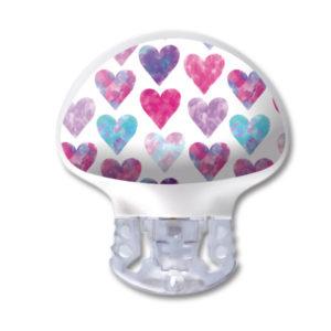 Medtronic Guardian 3 Transmitter Sticker Herzen Hearts wasser- und kratzfest von www.zuckerschmuck.com